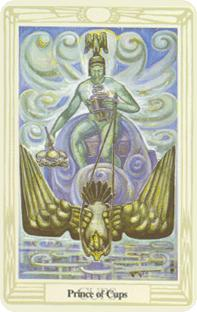 Riddare i bägare i tarot, knight of cups