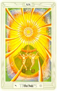 Solen i tarot, the sun