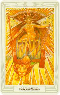 Riddare i stavar i tarot, knight of wands